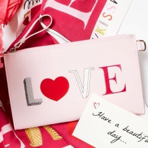 Longchamp LE Valentines Day Clutch